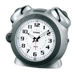 カシオ 目覚まし時計 SLEEP BUSTER TQ-645S-8JF|lamd