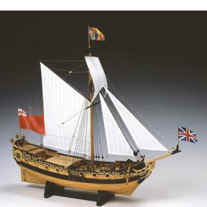 ウッディジョー 木製帆船模型 1/64 チャールズヨット lamd