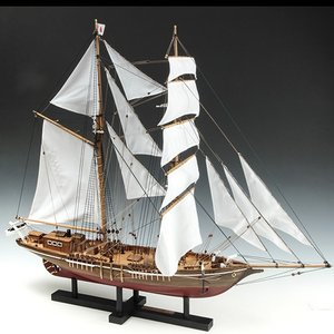 ウッディジョー 木製帆船模型 1/70 忍路丸 おしょろまる 改良版|lamd