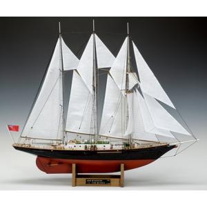 ウッディジョー 木製帆船模型 1/75 サー ウィンストン チャーチル レーザーカット加工|lamd