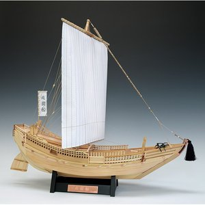 ウッディジョー 木製建築模型 1/72 北前船 lamd