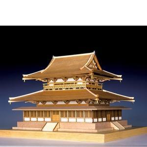 ウッディジョー 木製建築模型 1/150 法隆寺 金堂|lamd