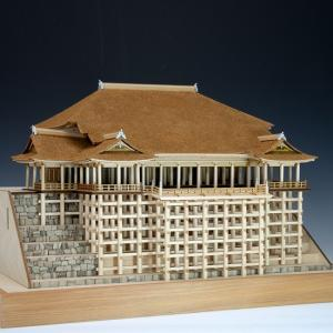 ウッディジョー 木製建築模型 1/150 清水寺|lamd