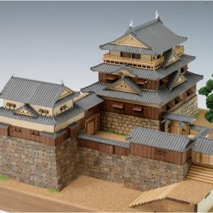 ウッディジョー 木製建築模型 1/150 松山城|lamd