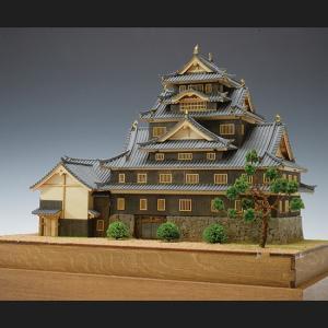 ウッディジョー 木製建築模型 1/150 犬山城 lamd