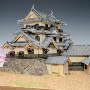 ウッディジョー 木製建築模型 1/150  彦根城|lamd