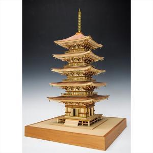 ウッディジョー 木製建築模型1/75 羽黒山五重塔|lamd