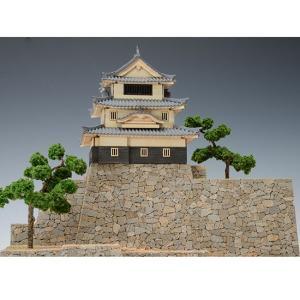 ウッディジョー 木製建築模型 1/150 丸亀城|lamd