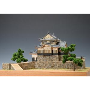 ウッディジョー 木製建築模型 1/150 備中松山城|lamd