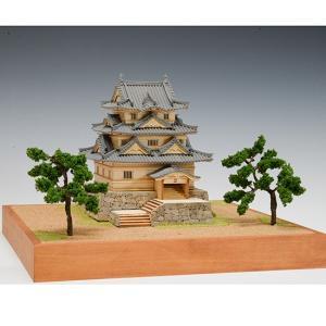 ウッディジョー 木製建築模型 1/150 宇和島城|lamd