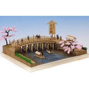 ウッディジョー 木製建築模型 東海道五十三次シリーズ 日本橋|lamd