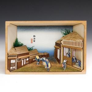 ウッディジョー 木製建築模型 東海道五十三次シリーズ 御油宿|lamd