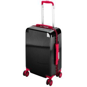 シック トラベルスーツケース TSAロック付 コンパクトタイプ ブラック UV-49|lamd
