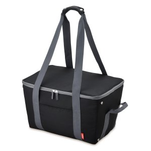 メーカー欠品中 次回9月下旬入荷予定です サーモス 保冷買い物カゴ用バッグ 25L REJ-025 BK|lamd