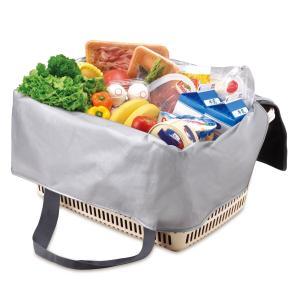 メーカー欠品中 次回9月下旬入荷予定です サーモス 保冷買い物カゴ用バッグ 25L REJ-025 BK|lamd|02