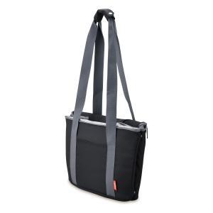 メーカー欠品中 次回9月下旬入荷予定です サーモス 保冷買い物カゴ用バッグ 25L REJ-025 BK|lamd|03