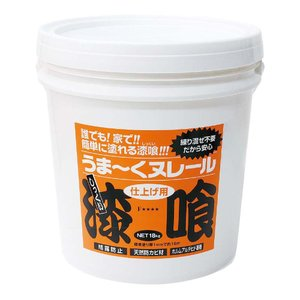 日本プラスター 漆喰うま〜くヌレール 18kg パウダーグレー色|lamd