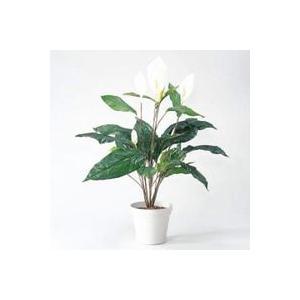 ライオン事務器 人工植物 「スパティラム」 75cm GS-124 (GS124)|lamd
