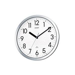 CITIZEN シチズン クオーツ掛時計 防湿・防塵型クロック スペイシーM522 4MG522-050 [4MG522050]|lamd