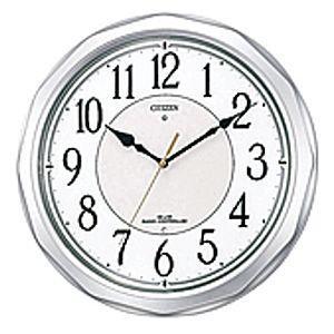 CITIZEN シチズン 電波掛時計 ネムリーナサニー 4MY642-019 [4MY642019]|lamd
