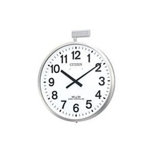 CITIZEN シチズン 電波掛時計 パルウェーブM611B 4MY611-B19  4MY611B19|lamd