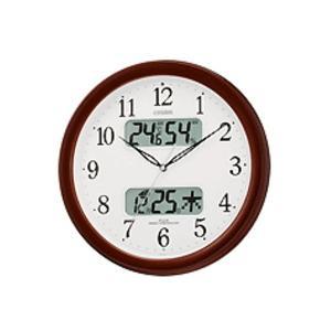 CITIZEN シチズン 電波掛時計 ネムリーナカレンダー 4FYA01-006 掛け時計|lamd