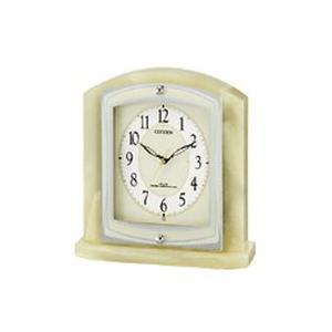 CITIZEN シチズン 電波置時計 パルラフィーネR400 8RY400-005 [8RY400005]|lamd