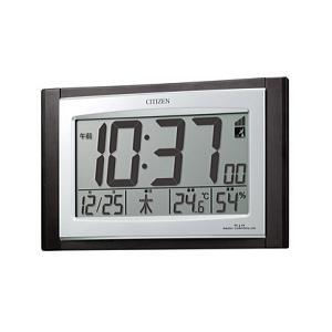 CITIZEN シチズン 電波時計 掛置兼用 デジタルタイプ パルデジットコンビR096 8RZ096-023|lamd