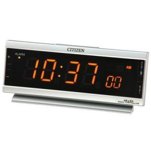 CITIZEN シチズン AC電源電波めざまし時計 パルデジットピュア 8RZ099-019|lamd