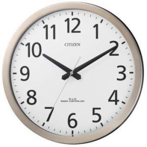 「送料無料」CITIZEN シチズン パルウェーブM475 電波掛け時計 8MY475-019 [8MY475019] 「掛時計」 |lamd