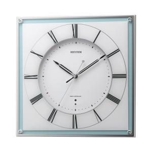 「数量限定」 リズム時計 電波掛時計 ミレディマリン 8MY499SR04 lamd