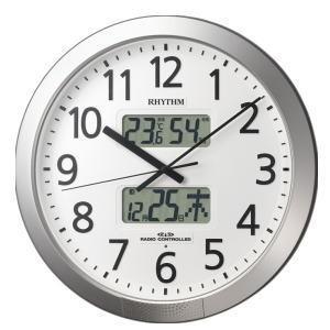リズム時計 RHYTHM プログラムカレンダー404SR 4FN404SR19|lamd