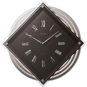 「数量限定」 リズム時計 電波掛時計 ビュレッタ  4MX405SR06 lamd