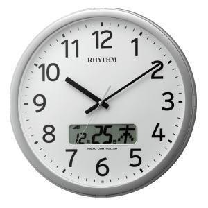 リズム時計 RHYTHM プログラムカレンダー01SR 4FNA01SR19|lamd
