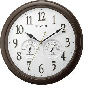 リズム時計 クオーツ掛時計 オルロージュインフォートM37 8MGA37SR06 lamd