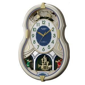リズム時計 RHYTHM スモールワールドカラーズ 4MN543RH18|lamd
