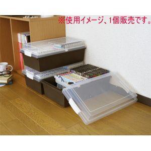 吉川国工業所 コミック&DVD&ゲームソフトケース CBR−ブラウンの写真