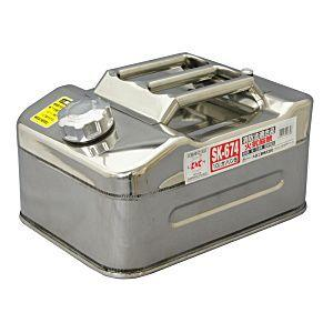 Meltec メルテック  大自工業 ステンレス ガソリン携行缶 10L SK-674 SK674 ガソリン携帯缶|lamd