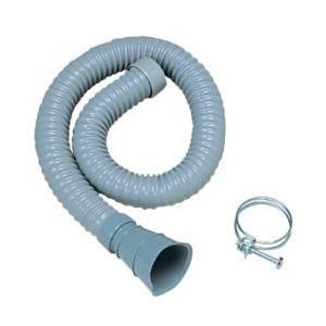 タキロン 研ぎ出し流し デラックスタイプ用 排水ホース S型 [オプション]|lamd
