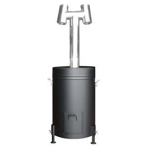 「送料無料」「ヤマト便・時間指定不可」HONMA [ホンマ製作所] 燻炭工房 [容器型燻炭器]|lamd