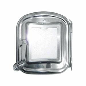 ホンマ製作所 時計型薪ストーブ用 ガラス窓付 替え扉|lamd