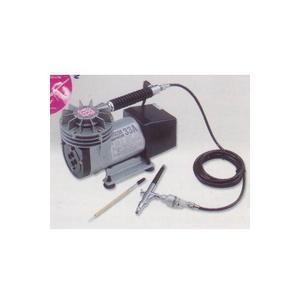 ホルベイン エアーブラシ コンプレッサー トリコンセット 33A-V100|lamd