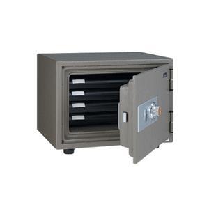 「メーカー直送 代引不可」EIKO[エーコー] ダイヤル式耐火金庫 SSL-4|lamd