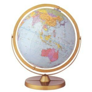 リプルーグル インテリア地球儀 球径30cm チャレンジャー型「日本語版」30872|lamd