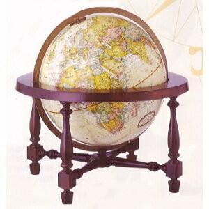 リプルーグル 地球儀 球径30cm コロニアル型 「日本語版」31772|lamd