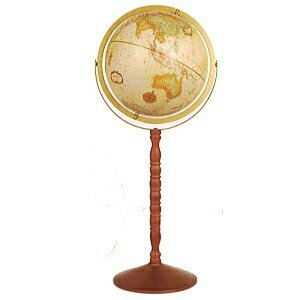 リプルーグル 地球儀 球径30cm ヨークタウン型  「日本語版」31873|lamd