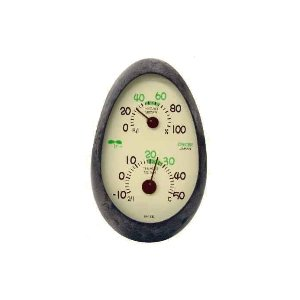 クレセル 温度計・湿度計 CR-133 E 壁掛・卓上両用