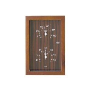 クレセル 温度計・湿度計 CR-660 C 壁掛・卓上両用|lamd