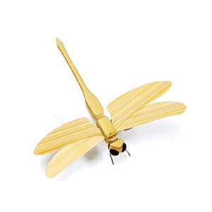 「在庫限り」「完成品」 イトーオヤジの虫籠 竹細工の昆虫 「蜻蛉・トンボ」|lamd