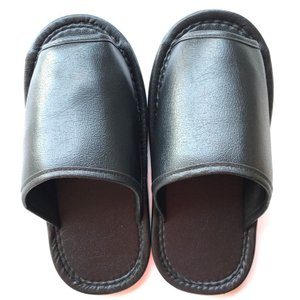 靴を履いたままでも履ける ビックスリッパ ブラック|lamd